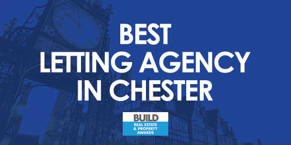 Best Letting Agency in Chester - BUILD Real Estate & Property Awards