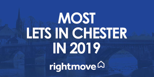 Most Lets in Chester in 2019 - Rightmove