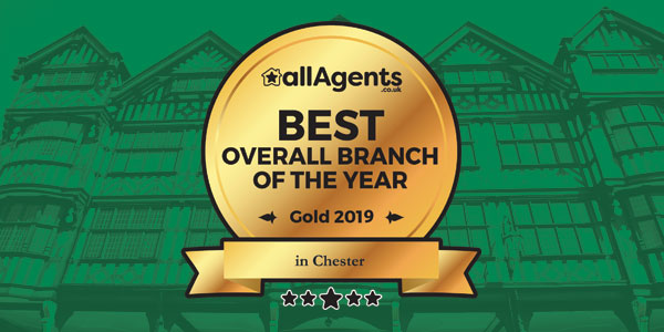 allagents.co.uk Best Overall Branch of the Year in Chester - Gold 2019