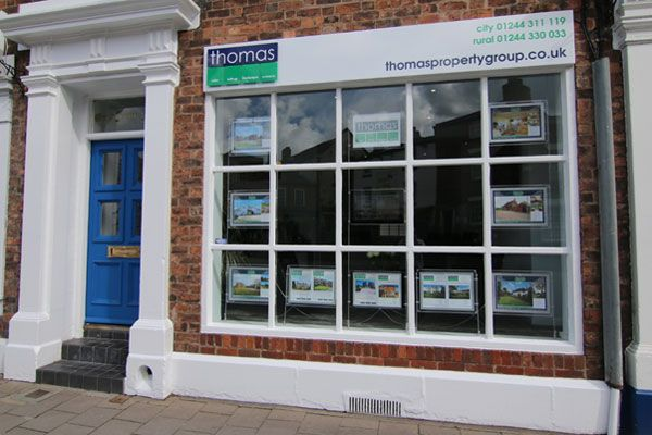 Thomas Property Group office in Chester city centre
